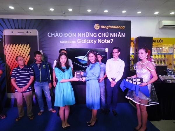 Thế giới Di động tung sản phẩm Galaxy Note 7