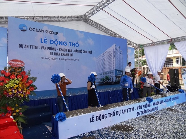 OGC triển khai dự án 700 tỷ tại nội đô Hà Nội