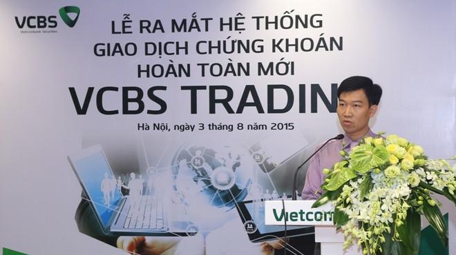 VCBS ra mắt hệ thống giao dịch mới
