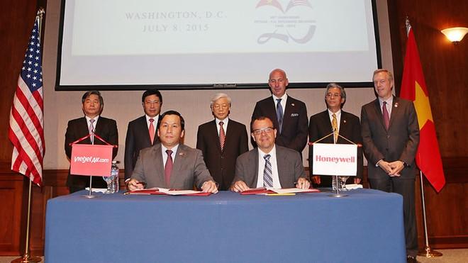 Vietjet hợp tác với Tập đoàn Hàng không Vũ trụ Honeywell