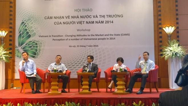 CAMS 2014: Người Việt Nam ủng hộ kinh tế thị trường với mức độ rất cao