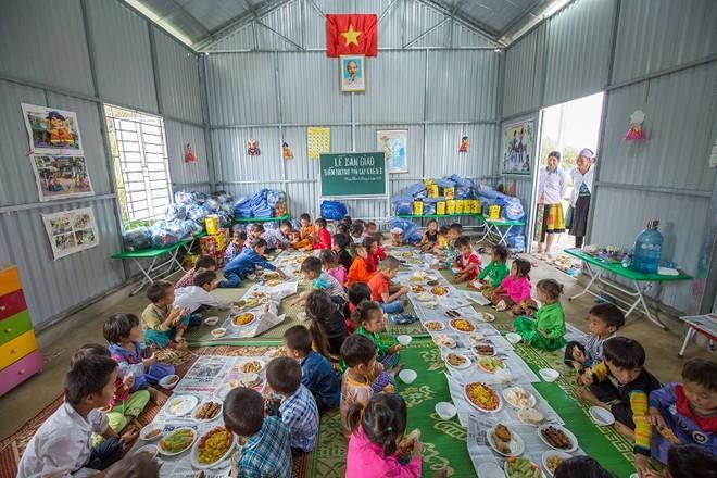 VIB tài trợ xây dựng trường học tại Xã Hua Nhàn, Sơn La