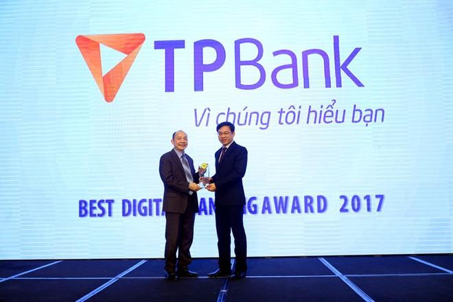 TPBank: Ngân hàng số xuất sắc nhất 2017