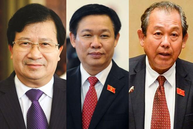 """Đại biểu """"chấm điểm"""" ba nhân sự trình Quốc hội làm Phó Thủ tướng"""