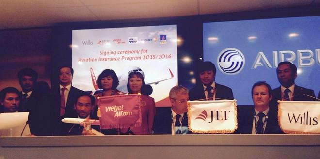 Bảo hiểm Bảo Việt bảo hiểm 1,5 tỷ USD cho đội máy bay Vietjet