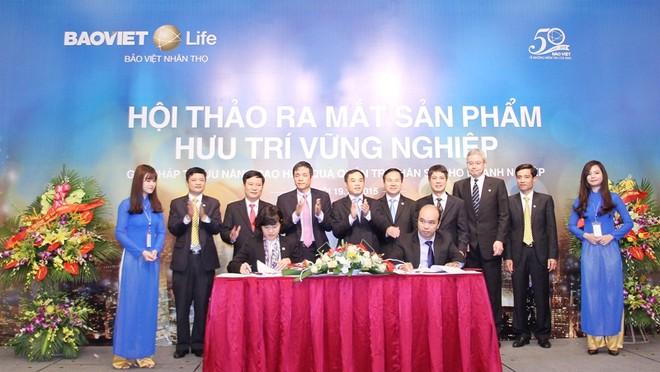 2 doanh nghiệp lớn đầu tiên mua bảo hiểm hưu trí Bảo Việt Nhân Thọ