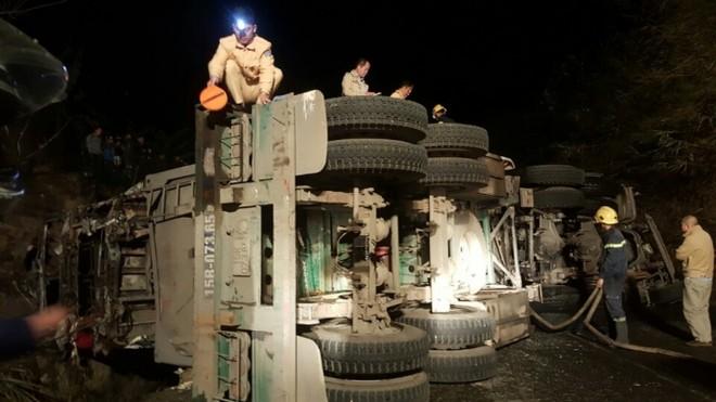 Vụ xe đầu kéo đâm xe khách ở Hòa Bình, VNI bồi thường cho nạn nhân