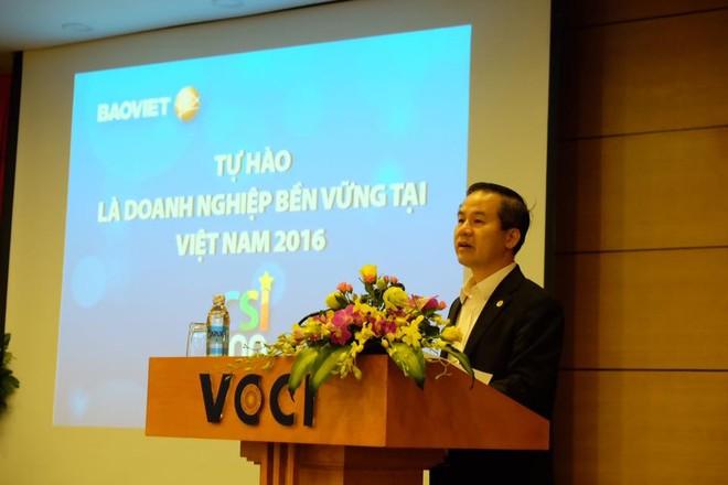 Phát động Chương trình đánh giá, công bố các doanh nghiệp bền vững tại Việt Nam năm 2017
