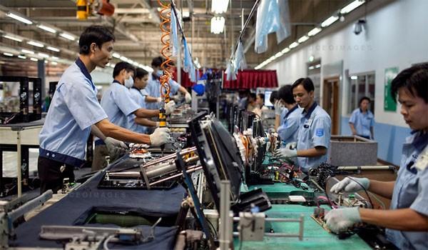 Chỉ số sản xuất công nghiệp 7 tháng tăng cao hơn cùng kỳ