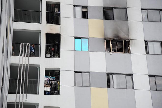 Cháy chung cư Rainbow Linh Đàm: Chuông báo cháy không hoạt động?
