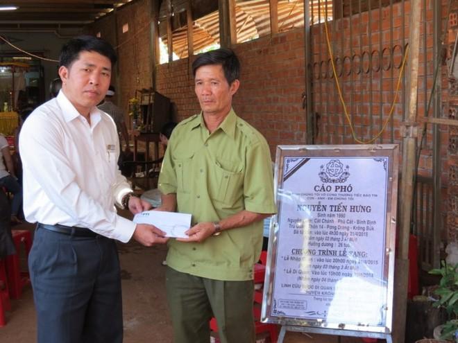 PTI Tây Nguyên hỗ trợ ban đầu cho nann nhân tai nạn giao thông ở Đắk Lắk
