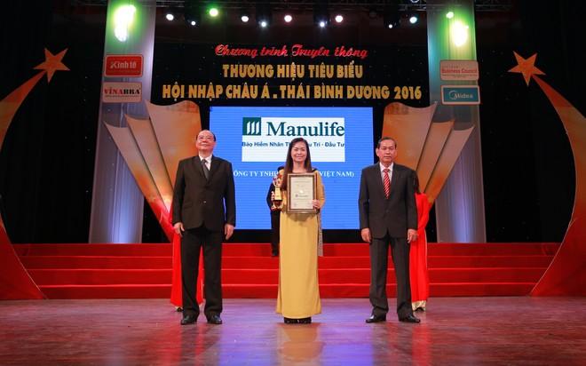 """Manulife Việt Nam được đánh giá """"uy tín nhất"""" và """"tốt nhất"""""""