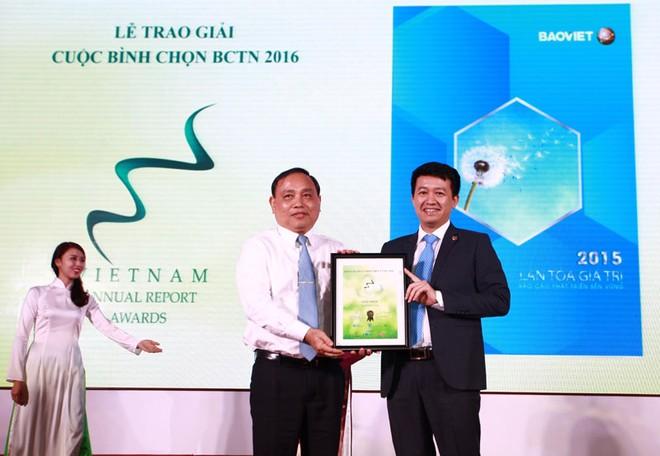 Tập đoàn Bảo Việt đạt giải Đặc biệt Cuộc bình chọn Báo cáo thường niên 2016