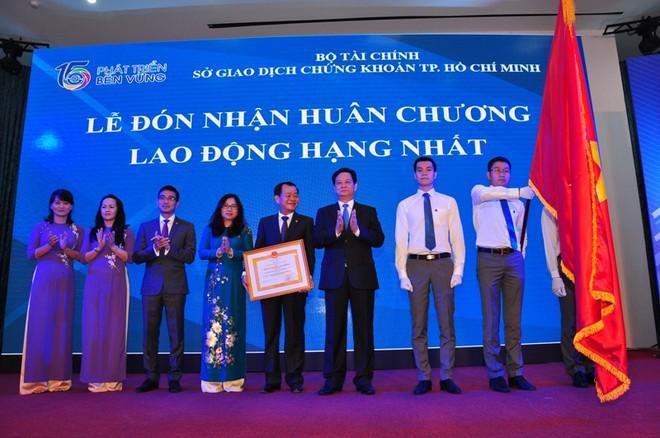 Kỷ niệm 15 năm thành lập Sở GDCK TP. Hồ Chí Minh