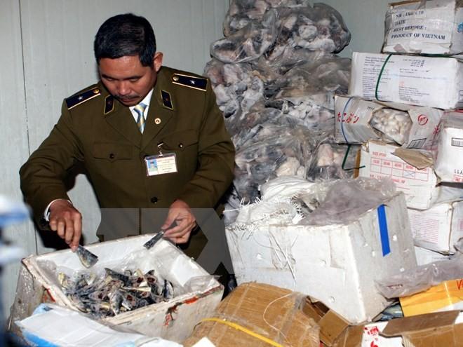Kiểm soát chặt các lô hàng thực phẩm thủy sản nhập từ Đài Loan