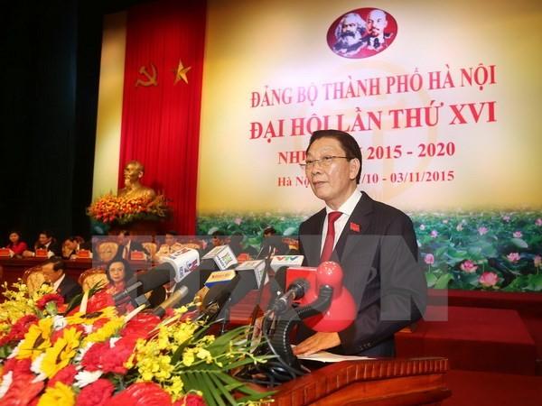 Xem xét việc ông Nguyễn Thế Thảo thôi giữ chức Chủ tịch UBND Hà Nội