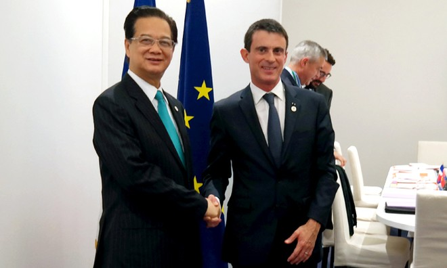 Thủ tướng Pháp ủng hộ sớm ký chính thức Hiệp định FTA Việt Nam - EU