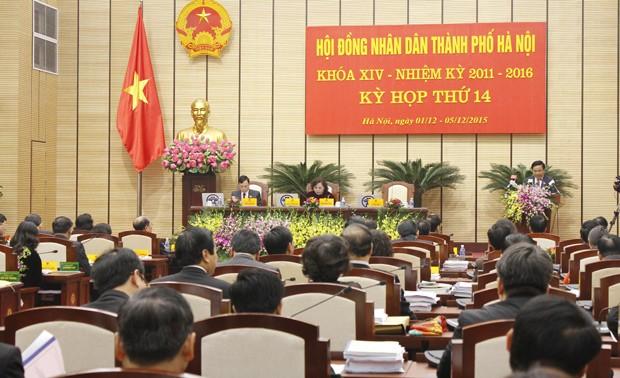Khai mạc kỳ họp thứ 14, HĐND thành phố Hà Nội khóa XIV