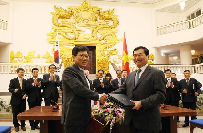 Hàn Quốc chính thức phê chuẩn hiệp định FTA với Việt Nam