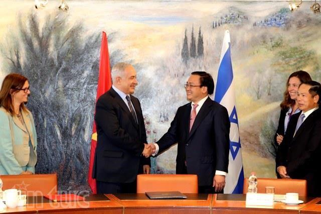 Tuyên bố khởi động đàm phán FTA Việt Nam - Israel
