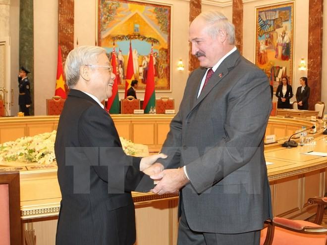 Tổng thống Belarus muốn mở rộng hợp tác về nhiều mặt với Việt Nam