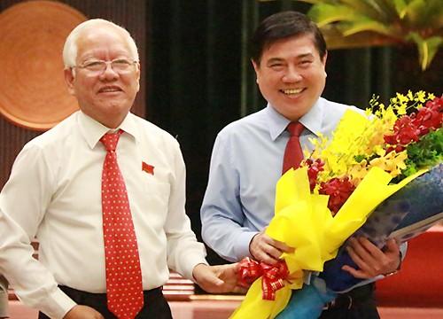 Ông Nguyễn Thành Phong được bầu làm Chủ tịch UBND TP. HCM