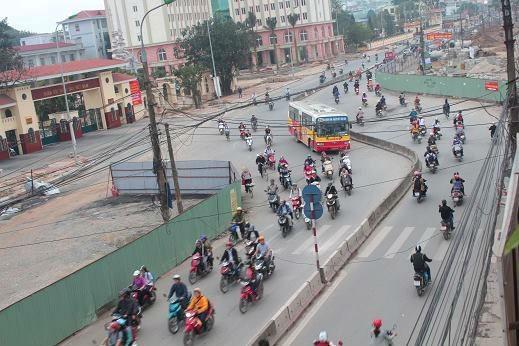 Hà Nội thông xe đường Vành đai 2 trước Tết Nguyên đán Bính Thân 2016