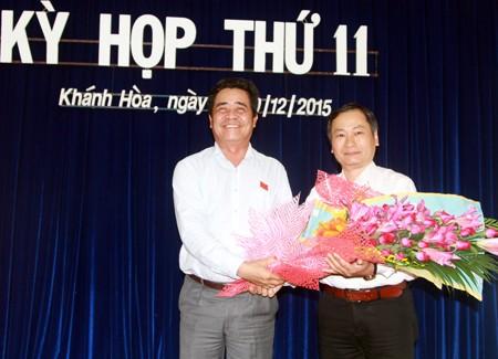 Phê chuẩn nhân sự Vĩnh Long, Khánh Hòa, Lai Châu