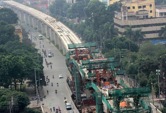 Đến 2026, Hà Nội sẽ có 5 tuyến đường sắt trên cao