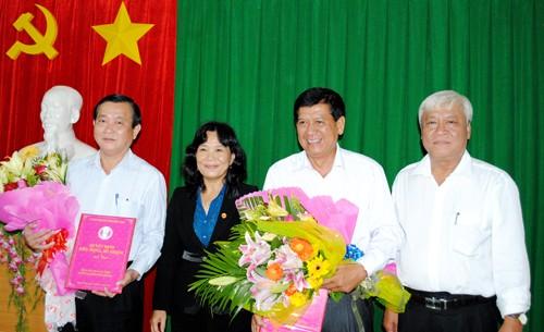 Thủ tướng phê chuẩn nhân sự tỉnh Đồng Tháp