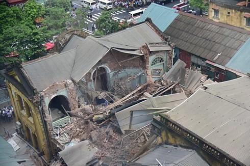 Hoàn thành kiểm tra an toàn công trình cũ tại đô thị trước 31/12/2016