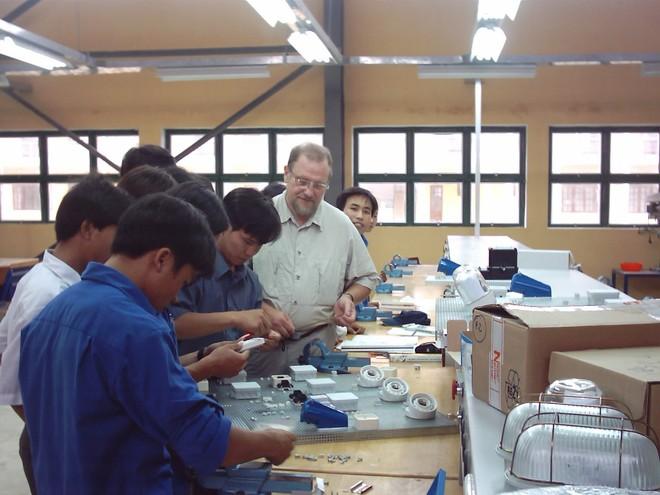 Đức tài trợ Việt Nam 9 triệu euro cải cách đào tạo nghề