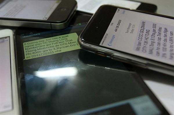 Mỗi ngày có tới 13,9 triệu tin nhắn rác được phát tán