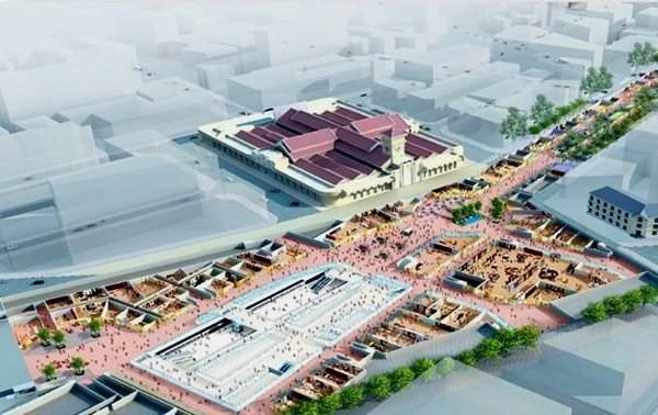 8.400 tỷ đồng xây khu phố ngầm Nhà ga trung tâm Bến Thành