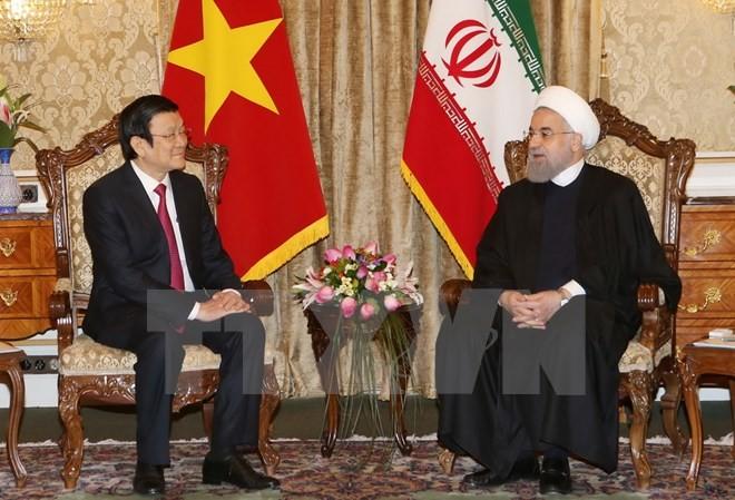 Việt Nam và Iran phấn đấu nâng kim ngạch thương mại lên 2 tỷ USD trong 5 năm tới