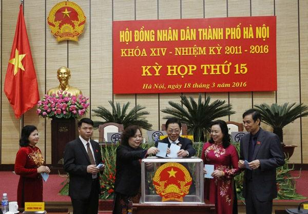 Hà Nội đã bầu ra được 3 Phó chủ tịch UBND TP mới