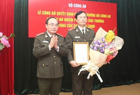 Bộ Công an bổ nhiệm, điều động nhân sự cấp cao