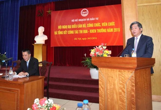 Toàn cảnh Hội nghị cán bộ, công chức, viên chức Bộ Kế hoạch và Đầu tư