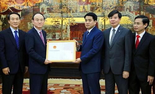 Samsung nhận giấy đăng ký đầu tư dự án R&D 300 triệu USD tại Hà Nội
