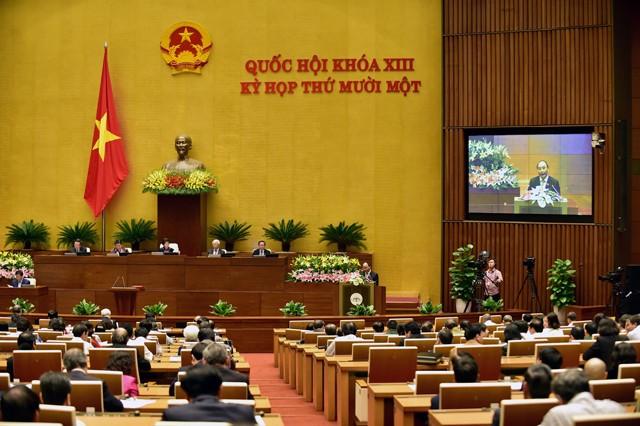Quốc hội tiến hành miễn nhiệm một số Phó Thủ tướng, Bộ trưởng