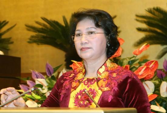 Trình Quốc hội phê chuẩn một số thành viên Hội đồng bầu cử quốc gia