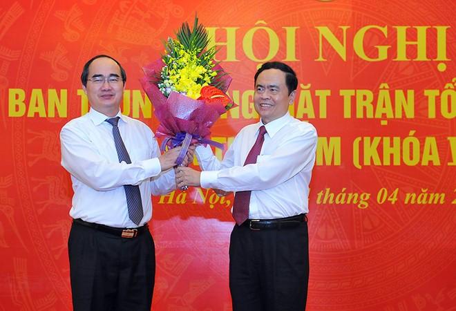 Hai Ủy viên Bộ Chính trị tham gia Đoàn Chủ tịch Ủy ban Trung ương MTTQVN