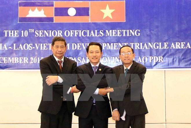 Khai mạc Phiên đàm phán thứ tư Hiệp định thương mại Campuchia - Lào - Việt Nam