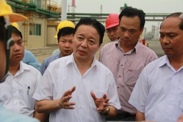 """Bộ trưởng Trần Hồng Hà: """"Formosa đặt ống xả thải ngầm là trái luật"""""""