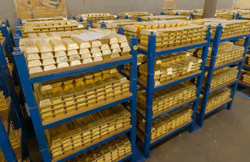 Trung Quốc mua hầm chứa vàng ở London