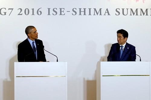 Hội nghị thượng đỉnh G7 tại Nhật Bản sẽ bàn về Biển Đông