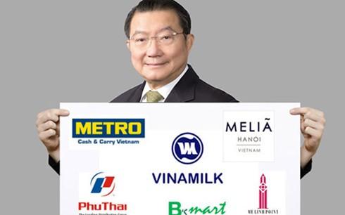 Ba tỷ phú giàu nhất Thái Lan đều đã rót vốn vào Việt Nam