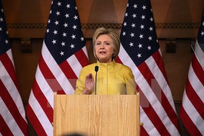 Bà Clinton hội đủ phiếu đại biểu để thành ứng cử viên Tổng thống