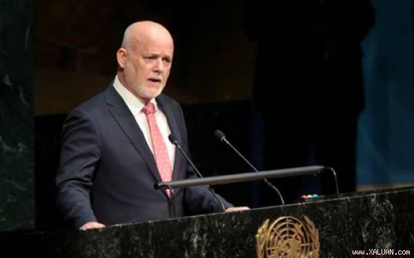 Đại sứ Fiji Peter Thomson trở thành tân Chủ tịch Đại hội đồng Liên Hợp Quốc