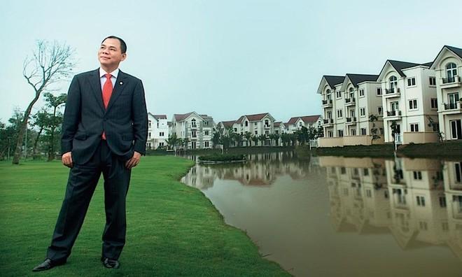 Forbes: Ông Phạm Nhật Vượng có 2,2 tỷ USD tài sản ròng